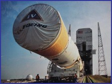 Delta IV Rocket Transport Cover