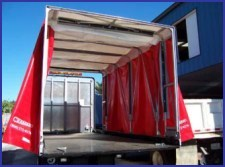 Flatbed Truck Tarp System